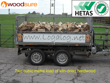 2m3 Kiln-dried Logs
